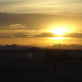 Beyond the horizon there just might be a place for lost souls like ours... #sunset #chihuahua #desert #sun