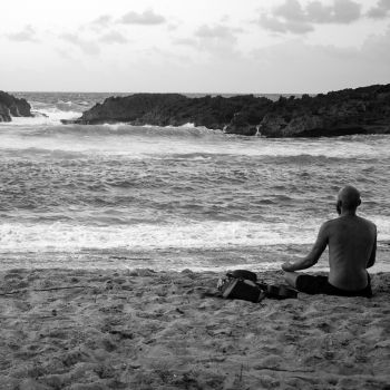 Meditation in Mar Chiquita